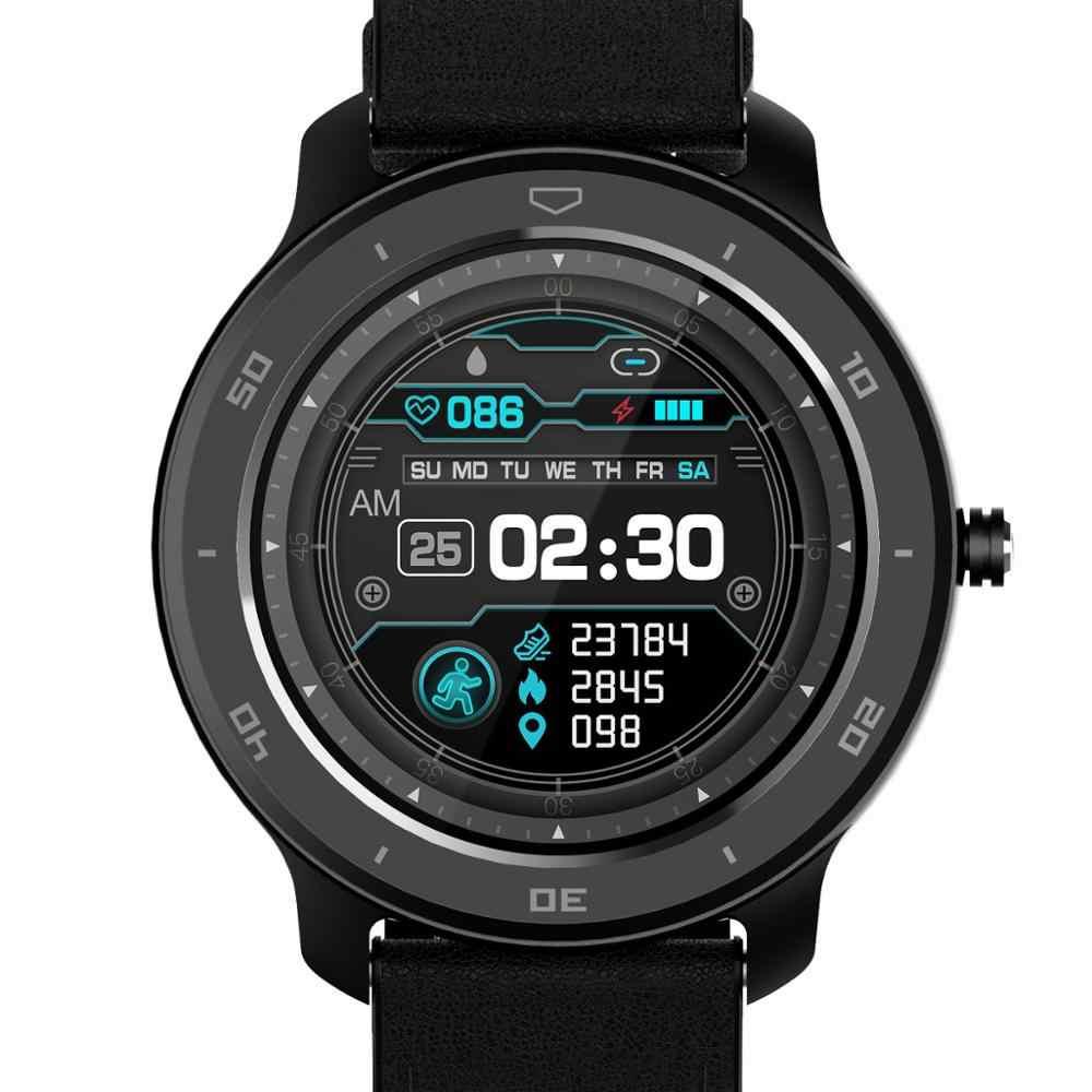LOKMAT Ocean Smart Watch Men Fitness Tracker Blood Pressure Message Push Heart Rate Monitor