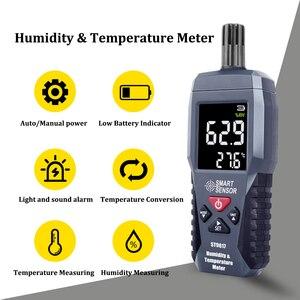 Image 5 - Digitale Temperatuur vochtigheidsmeter Hygrometer Hoge Nauwkeurigheid Thuis Indoor Outdoor Thermometer Gauge Pyrometers Tester  20 60 °C
