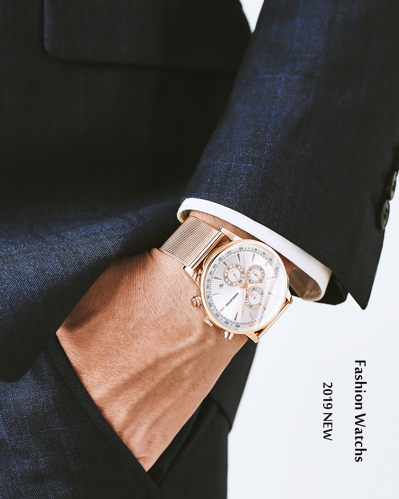 H4677ca946bb34403b9e21f9f1525c516O Watch Chronograph Army Military Quartz Watches GRMONTRE
