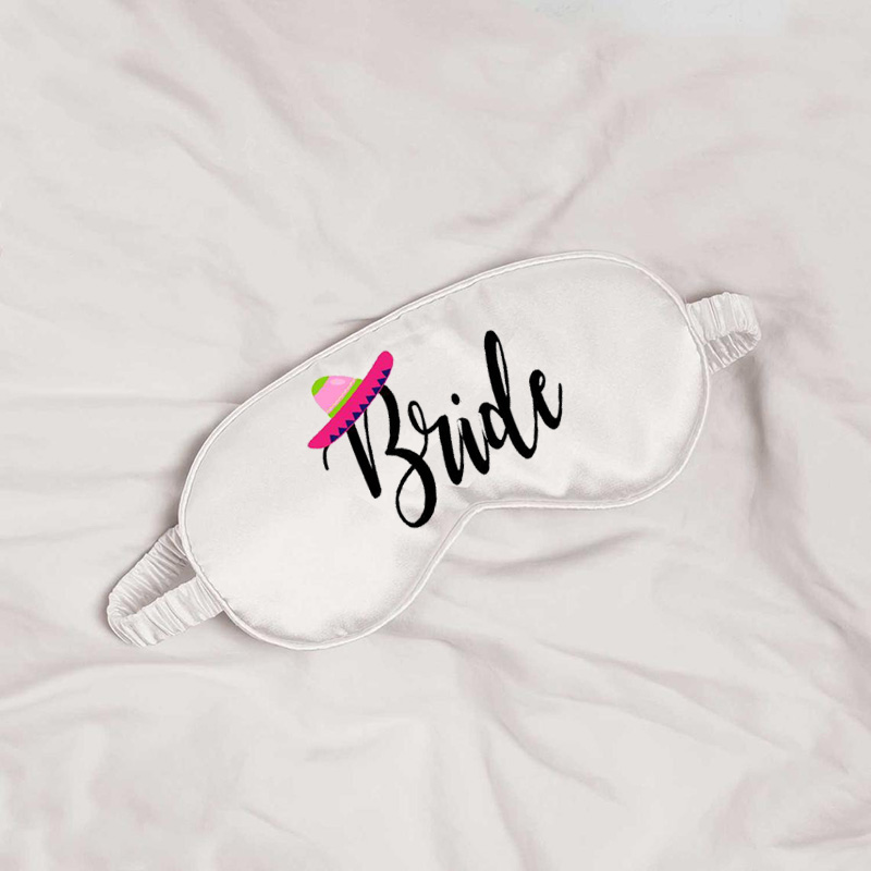 Fiesta Mexican themed bride to be wedding engagement bridal shower Bachelorette hen Party decoration gift present Makeup bag