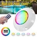 Супер яркий 45 Вт 450LED RGB плавательный бассейн LED свет с пультом дистанционного управления IP68 Водонепроницаемый пруд огни подводная лампа
