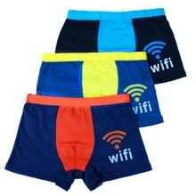 3/pcs Men's Boxer Underwear Sexy Boy Shorts Teen Student Junior High School Students Middle School Youth Pants Shorts