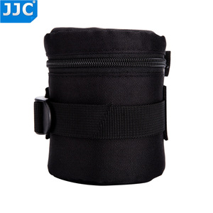Image 4 - JJC DLP 1 Lens Pouch Nylon Deluxe Case Water resistant Protector Bag For Nikon AF S Nikkor 50mm 1:1.8G/Fujifilm XF 23mm f/1.4 R