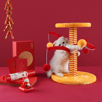 Good luck hanging ball grabbing post cat grabbing board sisal grabbing post wear resistant climbing frame cat supplies