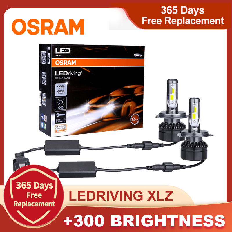Лампа Ксеноновая OSRAM светодиодный головной светильник светодиодный расклинивающий XLZ по 9012 HIR2 HB2 9005 9006 HB4 HB3 H11 лампы 6000K белый H1 H7 светодиодны...