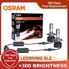 Osram led farol ledriving xlz 9012 hir2 hb2 9005 9006 hb4 hb3 h11 bulbo 6000k branco h1 h7 led h4 luz automóvel acessórios do carro