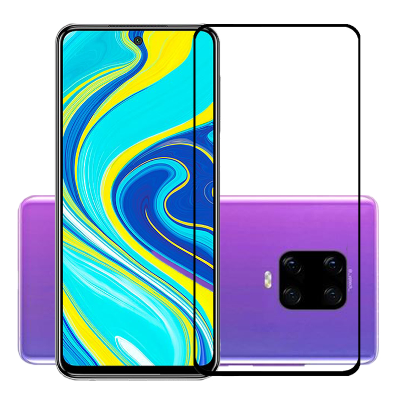 25 Pcs/Lot Full Screen Protector For Redmi Note 9/Note 9S/Note 9 Pro/Note 9 Pro Max Scratch Proof Protective Film Tempered Glass