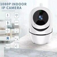 Cámara de seguridad inteligente para el hogar, sistema de vigilancia CCTV inalámbrico con red de seguimiento, 1080P, HD, Wifi