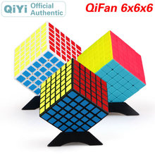 QiYi QiFan S 6x6x6 Magic Cube 6x6 Speed Twisty Puzzle Brain Teaser Challenging Intelligence Educational Toys For Children