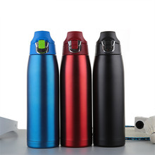 900ml Large capacity BPA FREE Insulated  auto MILK coffee Cup Stainless Steel Thermos Water Bottle Vacuum Flask Travel TEA Mug