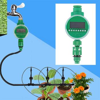 Podlewanie ogrodu zegar zawór kulowy automatyczny elektroniczny wodomierz domowy nawadnianie ogrodu wyłącznikiem czasowym tanie i dobre opinie Other Z tworzywa sztucznego Garden Water Timers leak-proof and tightly sealing lawn sprinkler sprinklers drip house etc