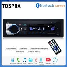Bluetooth Авторадио автомобильный стерео радио FM Aux вход приемник SD USB JSD-520 12 В в-dash 1 din автомобильный MP3 мультимедийный плеер