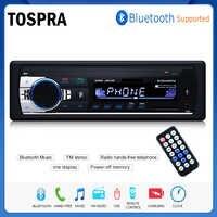 new Bluetooth Autoradio Car Stereo Radio FM Aux Input Receiver SD USB JSD-520 12V In-dash 1 din Car MP3 Multimedia Player
