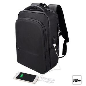 Modny plecak na laptopa torba na notebooka 15.6 cala wodoodporna przenośna szkolna torba na macbooka Pro Acer HP Dell Xiaomi ASUS