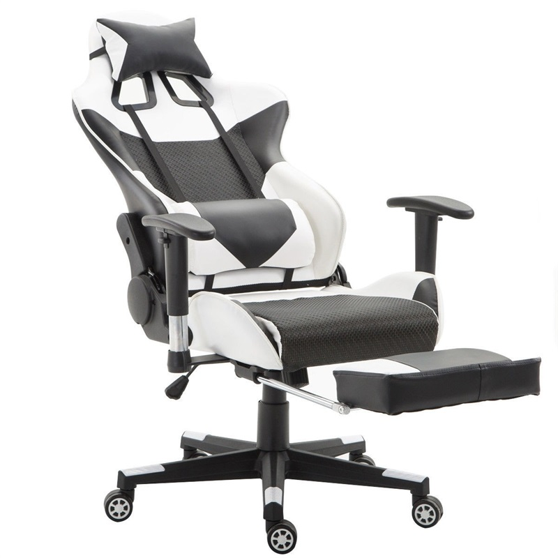 High Back Desk Computer Chair Game Gaming Chair Recliner Armchair with Lumbar Support and Footrest Office Chairs Sillas Gamer|  - AliExpress