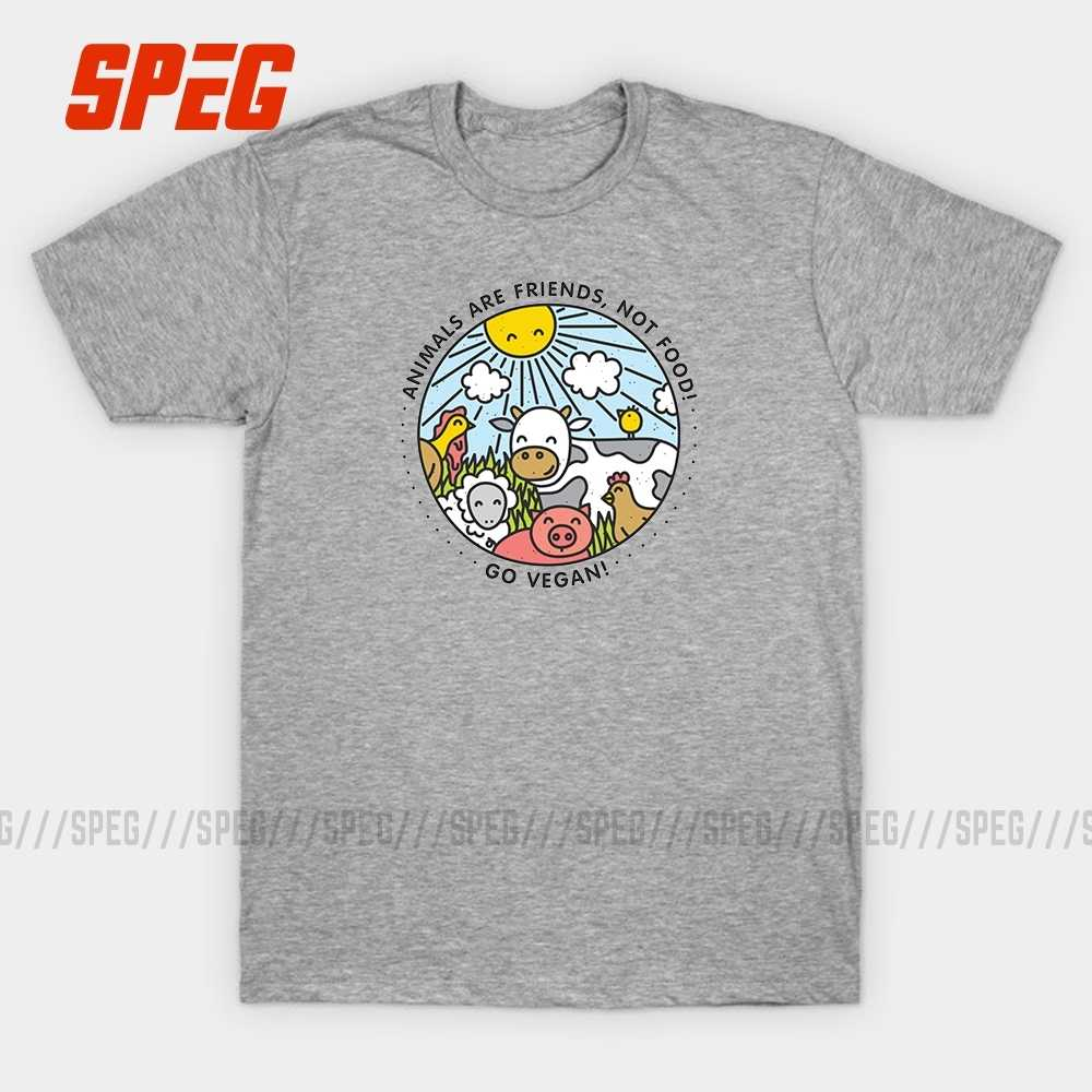 T Shirts Autumn Go Vegan Animals Are