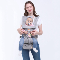 omni 360 Multifunction Breathable baby Carrier Backpack Kid Carriage Toddler Sling ring sling|Backpacks & Carriers|   -