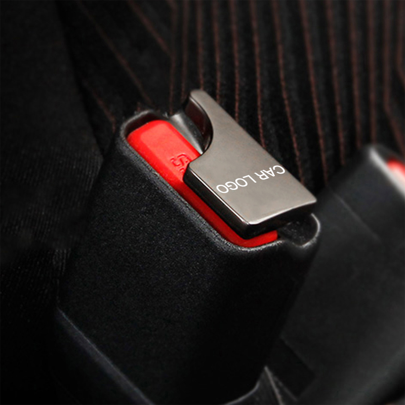 1PC Hidden Car safety seat belt buckle clip car accessories For Tesla model 3 y s x Car Accessories