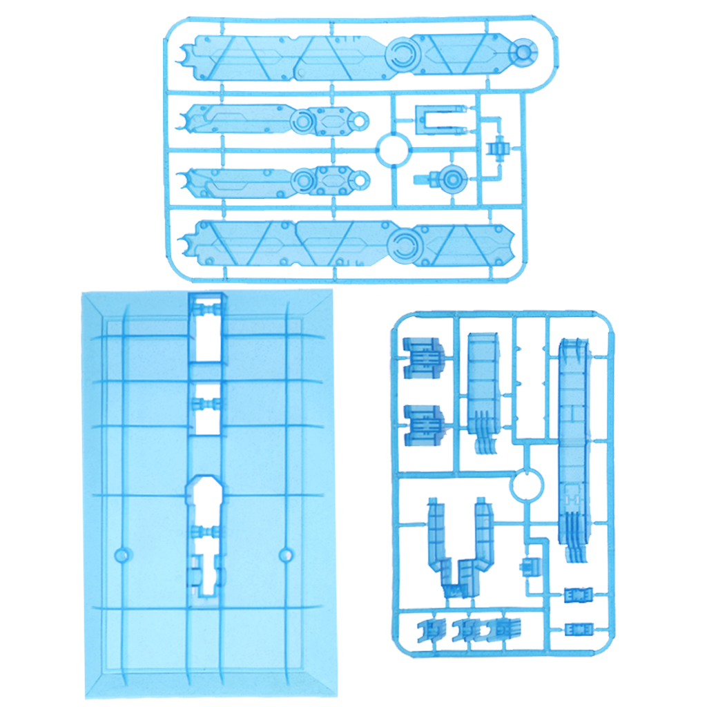 Clear Action Figure Base Stand Holder For 1//60 1//100 PG MG Gundam Model Toys