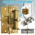 Charnière à ressort pour portes automatique   Charnière de fermeture de porte multifonctionnelle  vente en gros