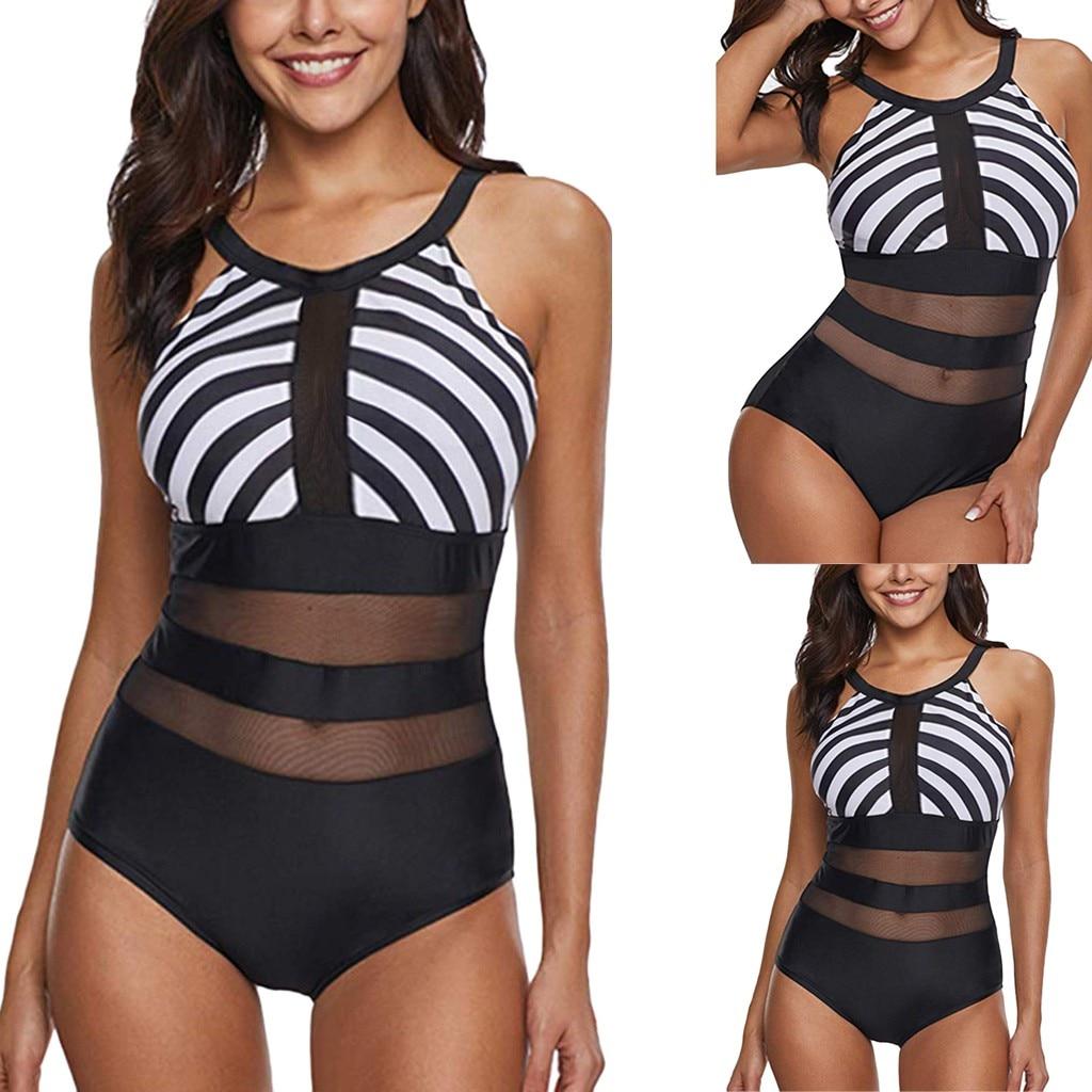 2019 Hot Sales Women's Striped Print Underwear High Quality Underwear Set Ladies' Intimate Wire Free Lengerie Female's Underwear