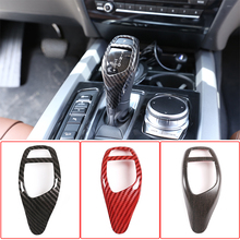 Car Gear Shift Panel Frame Gear Knob Cover Sticker For BMW 1/2/3/4/5 Series F20 F22 F30 F34 F32 F10 X5 F15 X6 F16 X3 F25 X4 F26