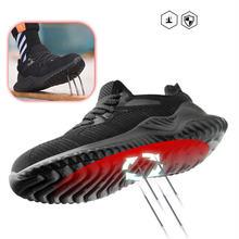 Сверхлегкие защитные ботинки унисекс дышащая рабочая обувь Нескользящие