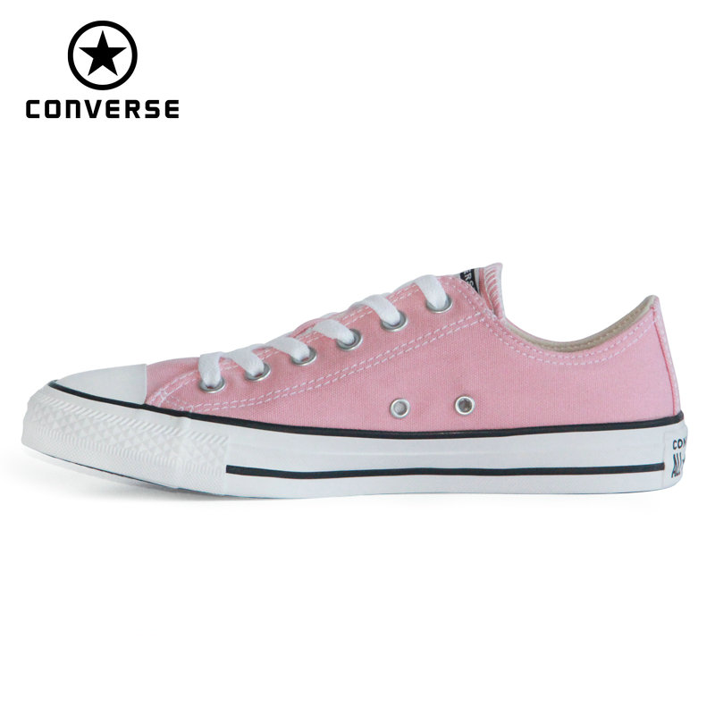 2020 CONVERSE New Chuck Taylor All Star Man And Women Sneakers Pink Color Style Low Skateboarding Shoes 164936C