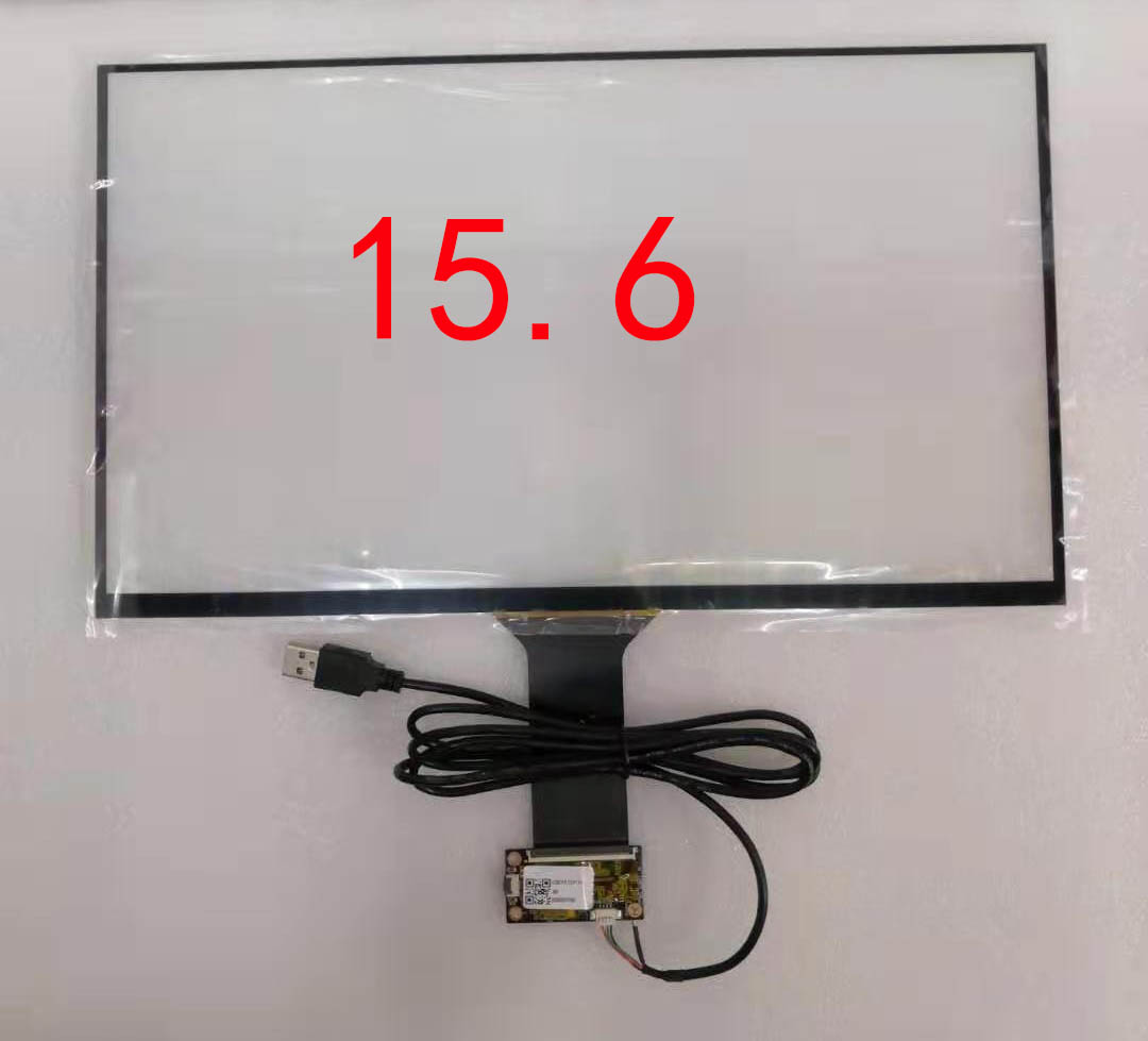 10.1/11.6/13.3/15.6 Polegada usb capacitivo touch screen sensor digitador mult dedos raspberry pi win7 8 10 ili2511 mão escritor