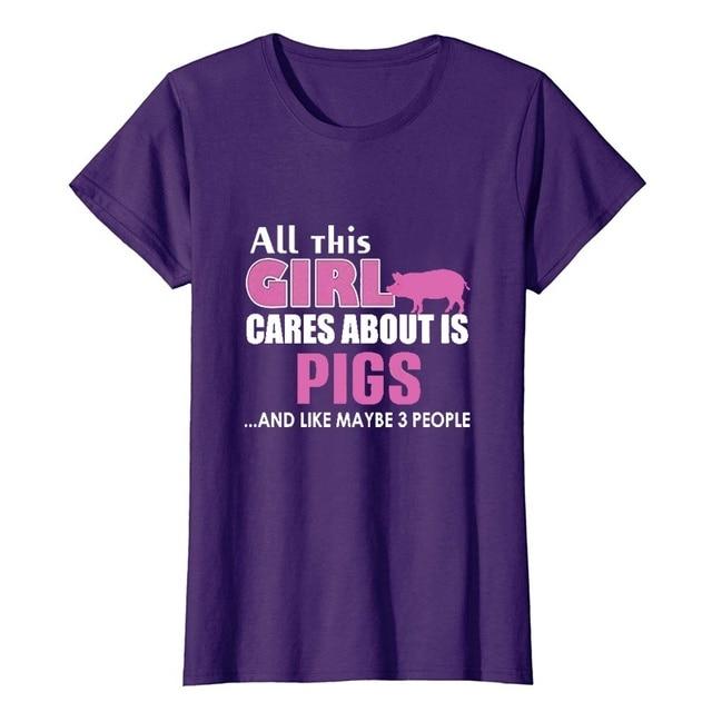 Купить футболка с рисунком свиньи женская футболка «все эта девушка» картинки