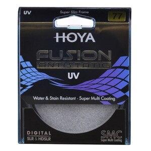 Image 2 - Hoya FUSION – filtre UV antistatique mince, protection multicouche pour objectif dappareil photo, 82mm 77mm 72mm 67mm 62mm 58mm 55mm 52mm 49mm