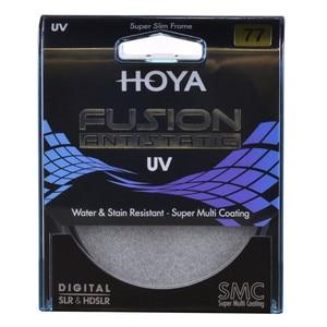 Image 2 - Hoya融合帯電防止uvスリムフィルター82ミリメートル77ミリメートル72ミリメートル67ミリメートル62ミリメートル58ミリメートル55ミリメートル52ミリメートル49ミリメートルmulticoat保護用カメラレンズ