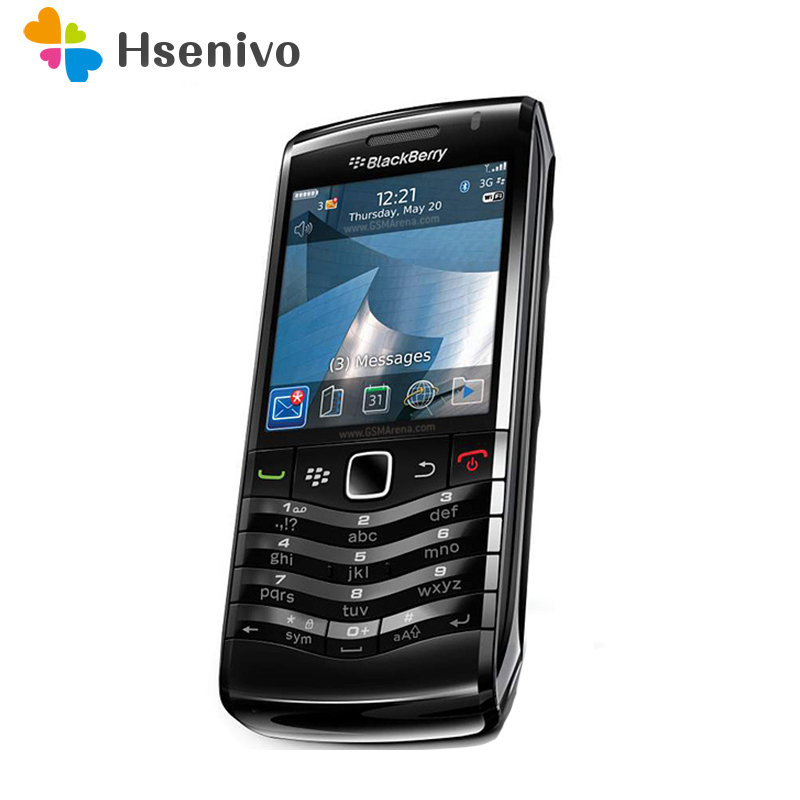 100% Original BlackBerry Pearl 9105 Mobile Phone 3G GSM WiFi Smartphone Quadband Unlocked Refurbished