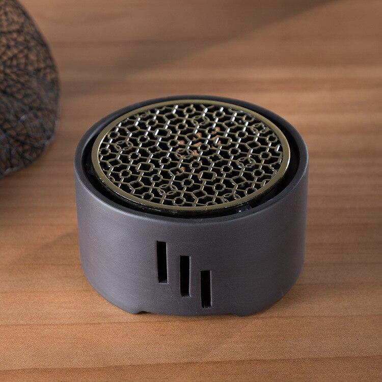 Image 5 - Heating Base Japanese Candle Tea Warmer Kungfu Tea Warmer  Insulation Base Ceremony Ceramic Heater Tea Pot Boiled Flower Tea  -