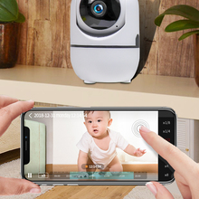 Baby-Monitor Camera Phone Nanny Cam Audio-Video Cry-Alarm Motion-Detection IR Home-Security