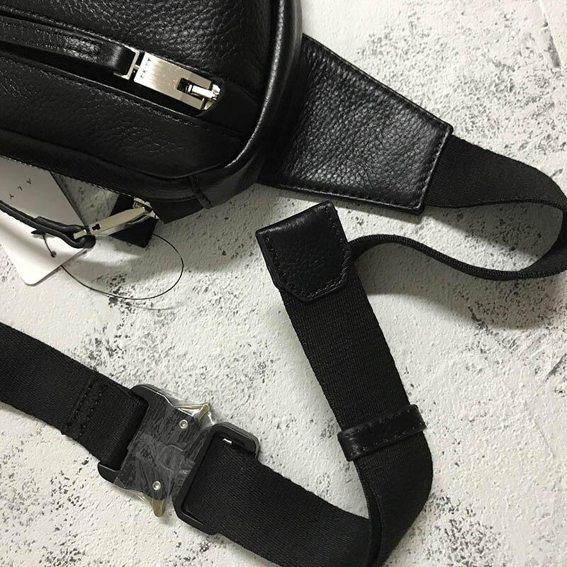 esportes peito funcional tático metal botão alyx sacos