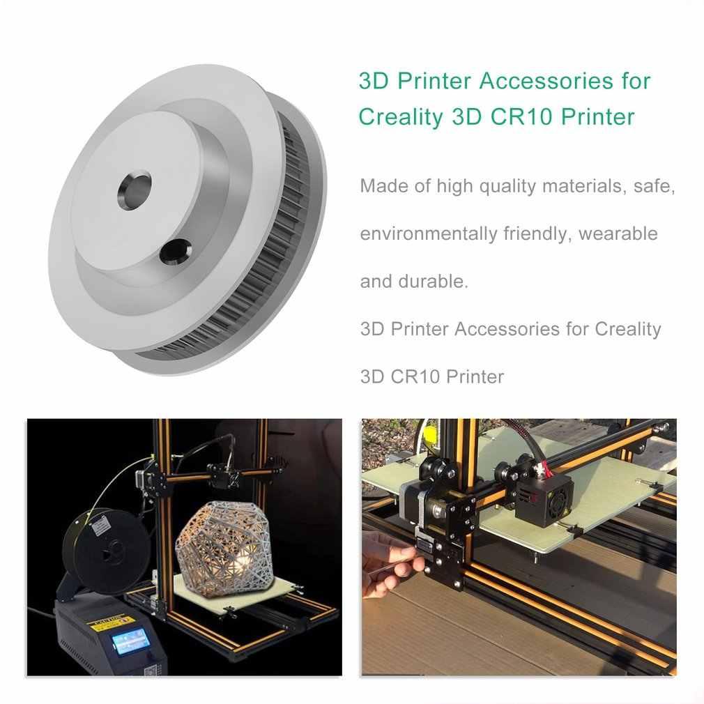 GT2 תזמון 60 שן 60 T 8mm נשא לreprap Prusa מנדל 3D מדפסת אלומיניום גלגלות החלפה חלקי