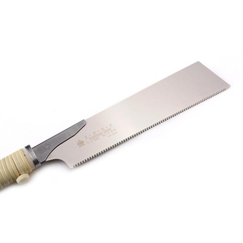 Tools : GYOKUCHO 410 Thick blade super hard single blade saw 240mm woodworking saw manual opening orginal Japanese saw