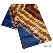 Hoge Kwaliteit Mode Afrikaanse 100% Polyester Bazin Riche Kant Stof Voor Trouwjurk Zwitserland Jacquard Kant Stof 1319