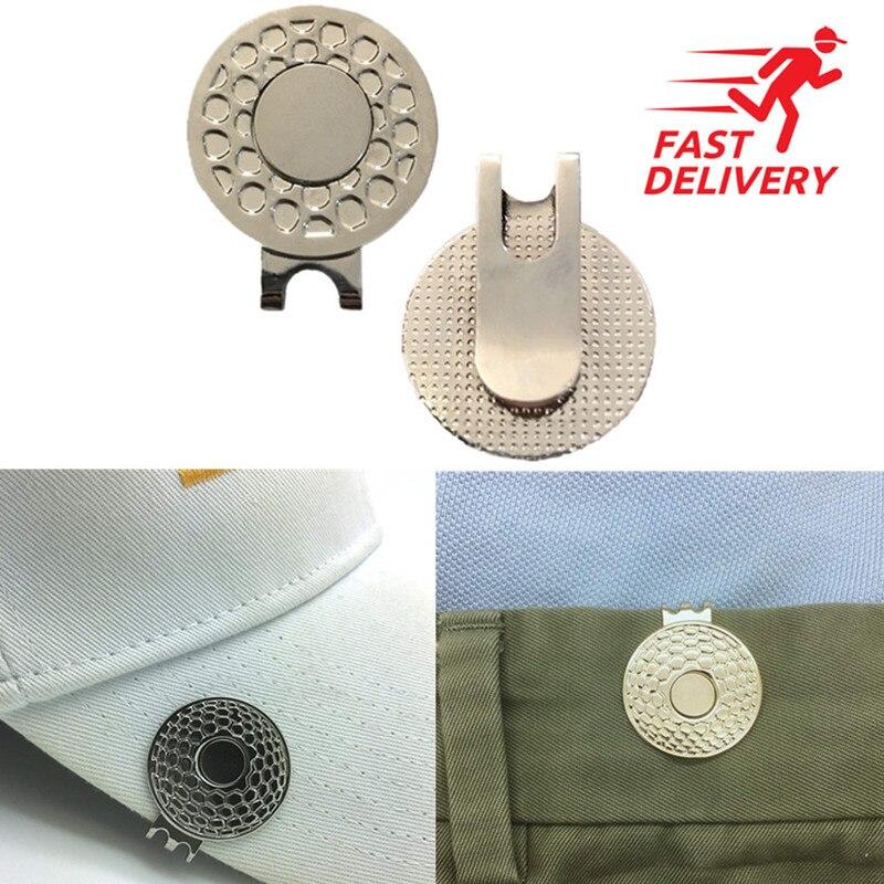 Finger Ten Magnetic Marker Golf Hat Clip For Women Caps Belt Official Alloy Clips 2 Pcs 3 Pcs Accessories Sign Alignment Set