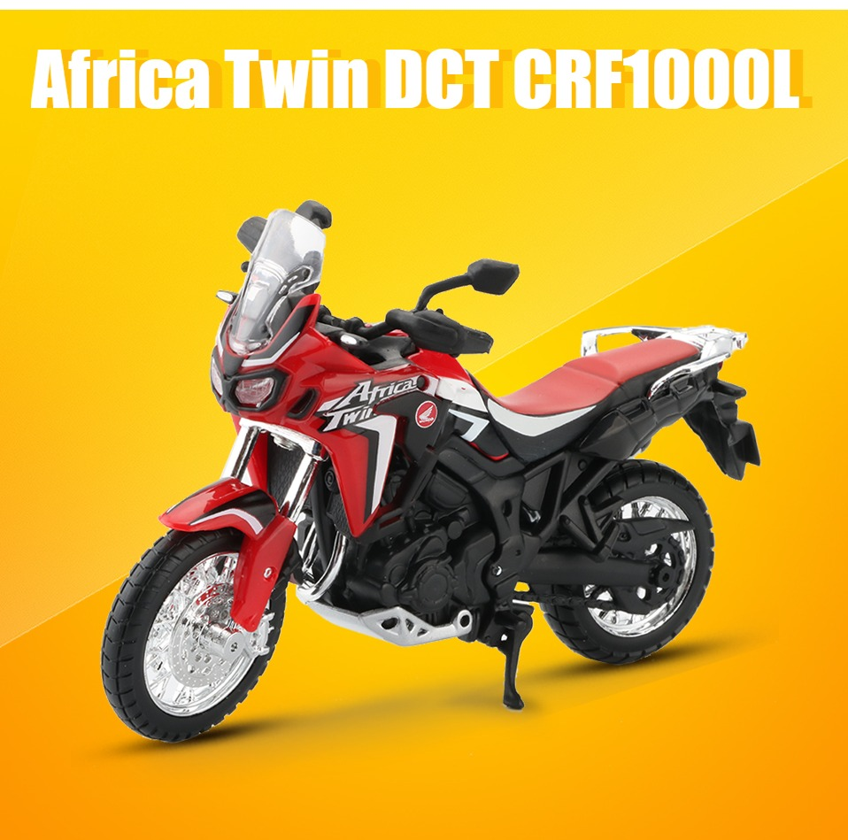 Africa Twin DCT CRF1000L Motorcycle Toy Model 7
