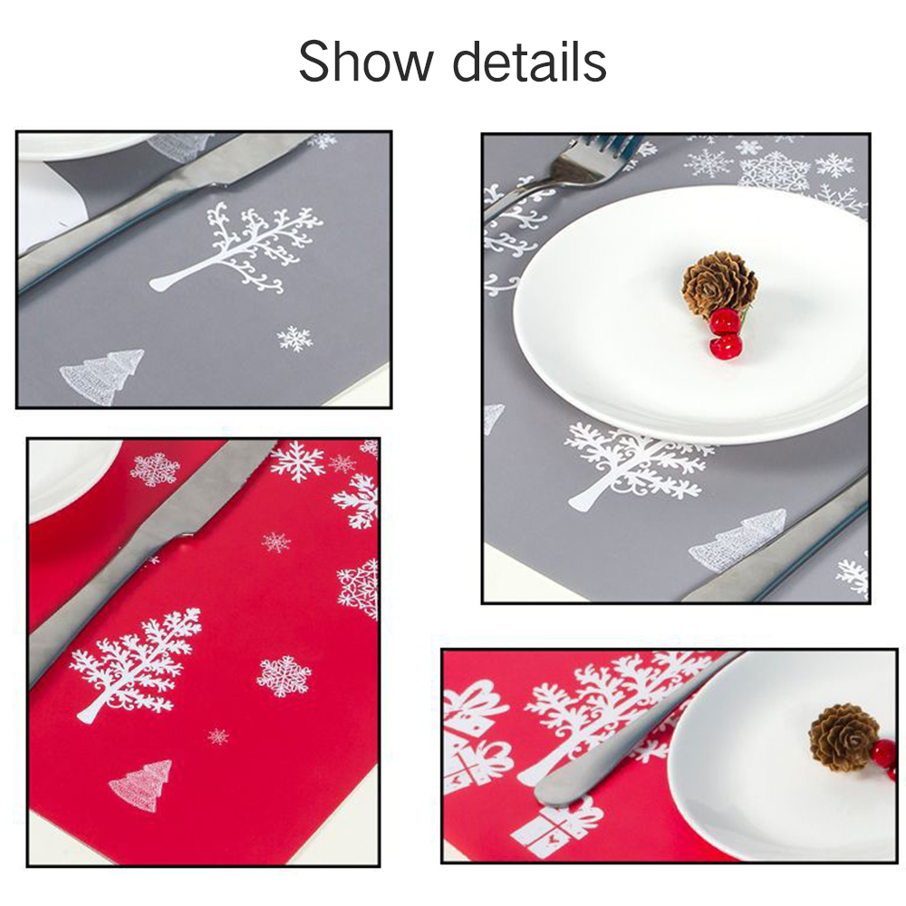 6 Sets of Matching Christmas Placemats and Coasters 7