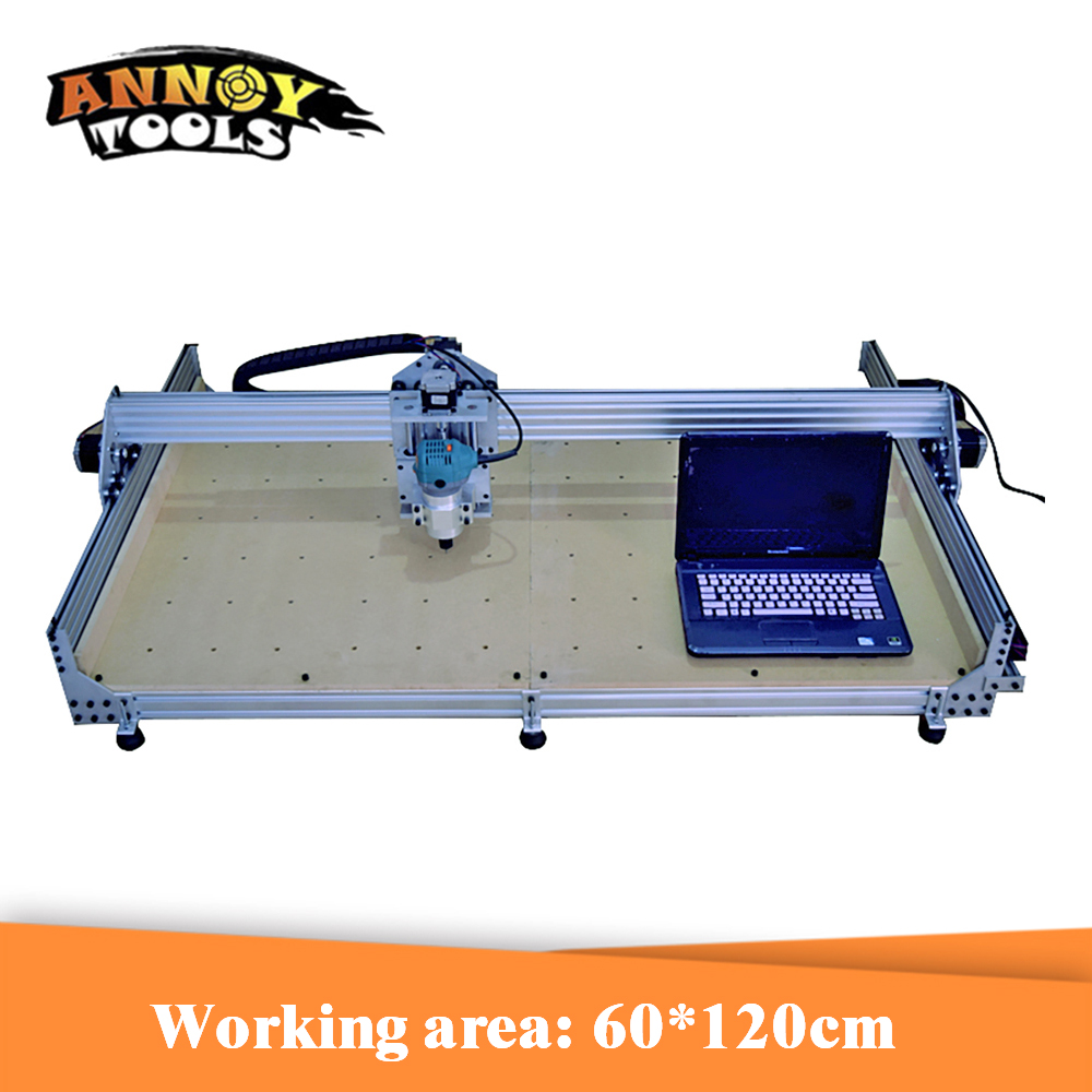 60*120CM 600W CNC Engraving Machine DIY Wood Router CNC Milling Machine For Cutting And Metal Engraving