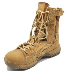Fabricantes Venta Directa Delta botas de alta altura del desierto Fans del ejército botas tácticas Botas de senderismo al aire libre cruce de la frontera para arena C