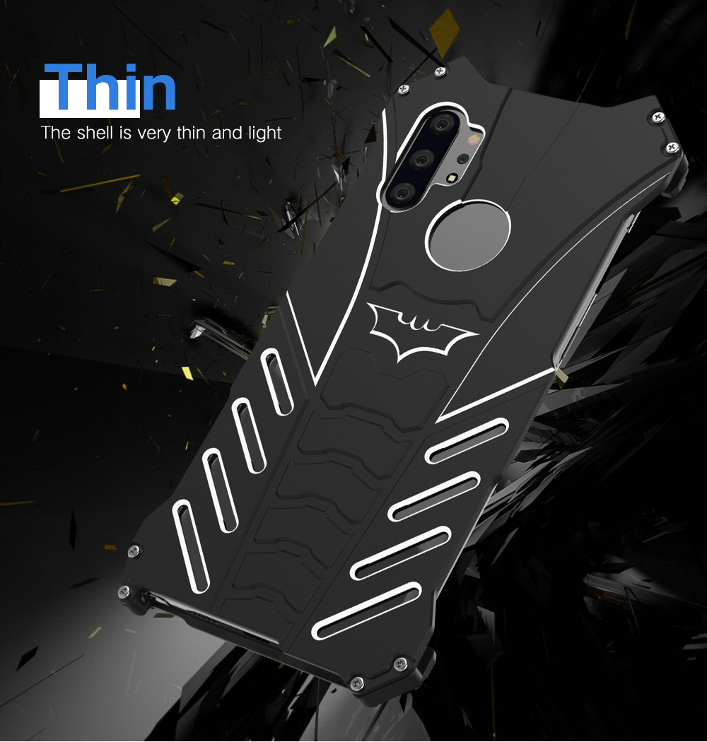 Note 10 Plus Case Hard Armor For Samsung Galaxy Note 8 9 S10 S9 S8 Plus Case Heavy Duty Metal Bumper Shockproof Protector Cover