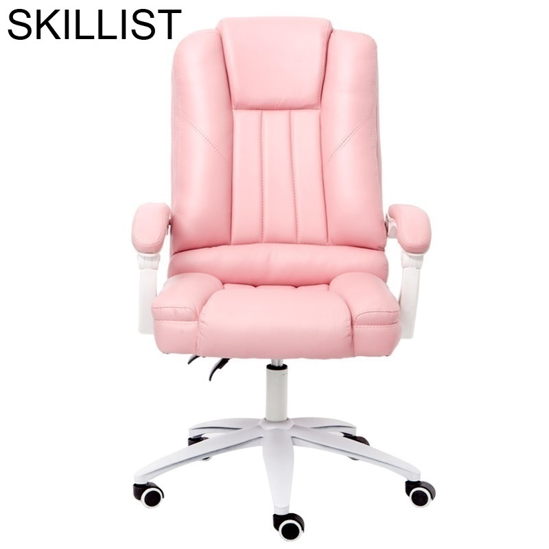 Fotel Biurowy Stool Ergonomic Sedia Ufficio Bilgisayar Sandalyesi Furniture Leather Silla Gaming Poltrona Office Chair