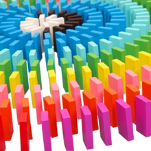 120 Pcs DIY Mix Colors Rainbow Kids Children Creative Wooden Building Blocks Game Play Toys Educational Toy Set Game Gift