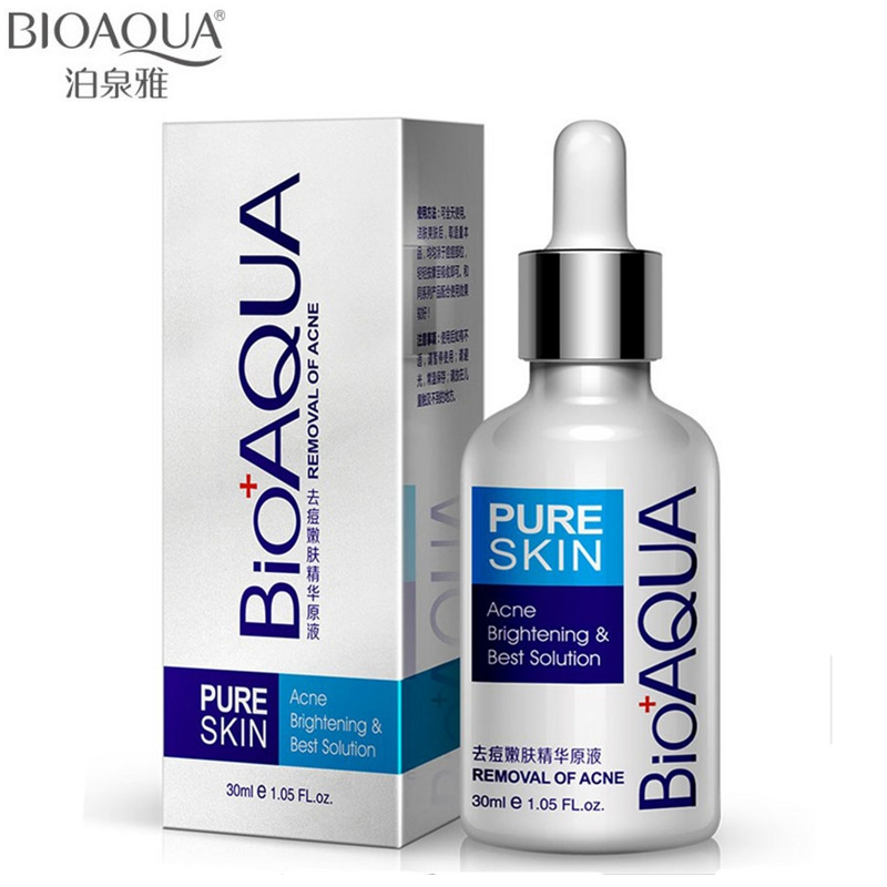 BIOAQUA 30ml Acne Treatment Essence Acne Scar Removal Liquid Acne Spots Facial Skin Care Whitening Moisturizing Face Care