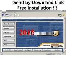 2015 última versión Mit. Ch. ell OD 5 de reparación de automóviles Software descargar enlace/250gb HDD Mit/ch/ell coche datos de reparación instalación