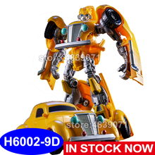 AOYI ألعاب شخصيات الحركة H6002 9D G1 الحرب العالمية الثانية النحل سيارة دبور المحارب تشوه روبوت التحول